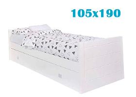 Cama nido de 105x190