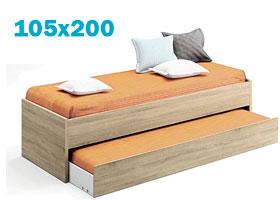 Cama Nido 105x200