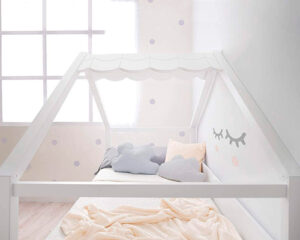 cama nido casita infantil